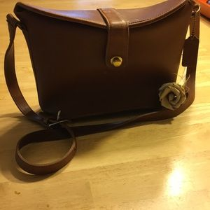 Vintage Coach Leatherware Crossbody Leather Bag